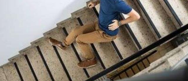 腰痛 (階段から落ちて腰を痛めたケース)